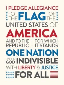 Pledge of Allegiance graphic